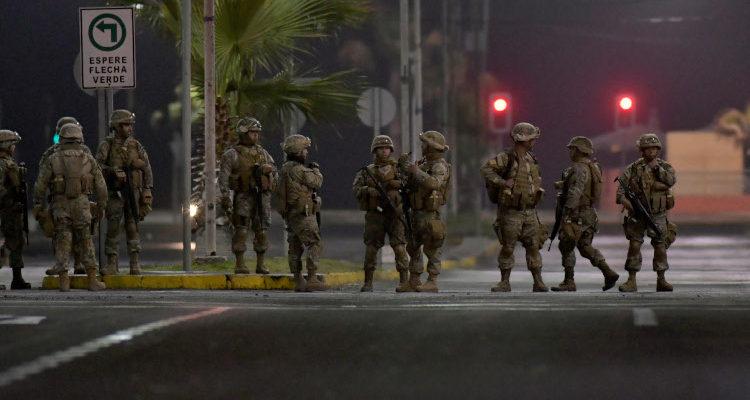 Llaman a reservistas del Ejército para sumarse a estado de emergencia