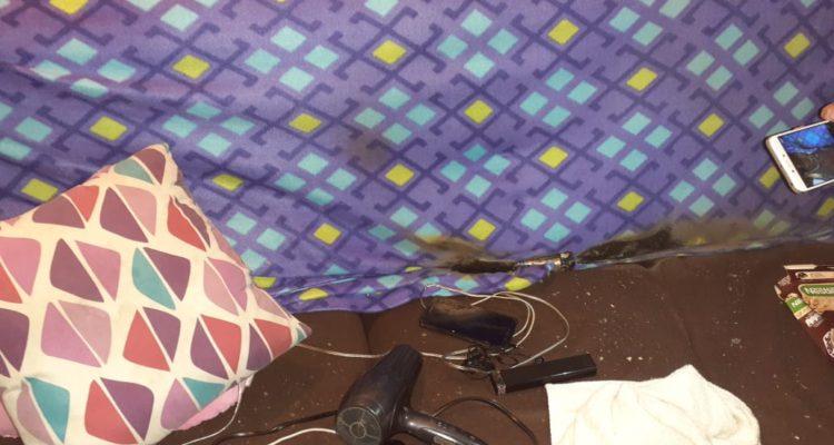 Mujer denuncia que lanzaron lacrimógena al interior de su departamento en Concepción - Canal 9 Bío Bío Televisión