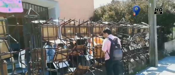 Estudiantes se tomaron el Colegio Marina de Chile en Concepción - Canal 9 Bío Bío Televisión