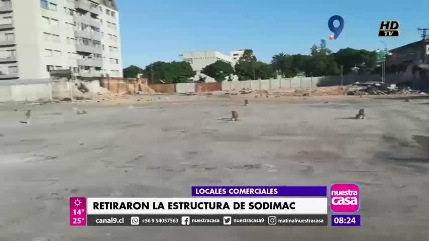 Retiran estructura de siniestrado local Sodimac en Concepción - Canal 9 Bío Bío Televisión