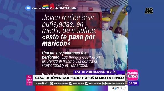 Movilh Chile toma acciones en caso de joven que recibió ataque ...